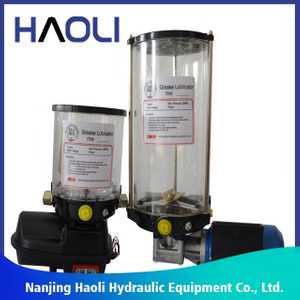construction equipment lubrication system Grease Pump