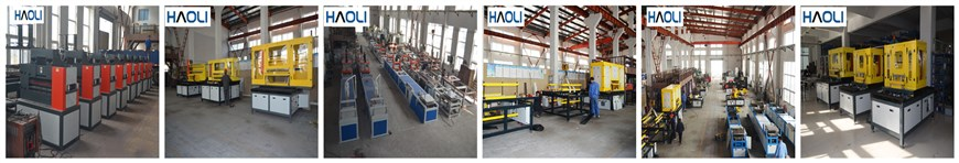 The assembly workshop of FRP pultrusion equipment manufacturers